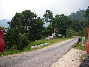 Ilam, Nepal - Gateway road to Ilam