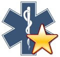 Image-Star of life with a gold star.svg