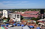 Image of TX OU Red River Shootout in Cotton Bowl seen from fair grounds - original.jpg