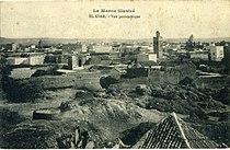Images325 CP Maroc, El-Ksar, Alcacer Quibir. Vue panoramique.jpg