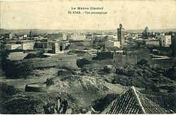 העיר בשנת 1900