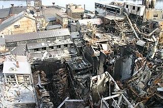 2008 Georgia sugar refinery explosion Fatal industrial disaster