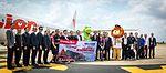 Inaugural Flights Thai LionAir @KKC (33448298186).jpg