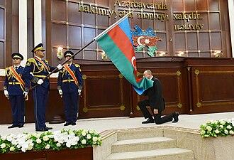 Ilham Aliyev - Aliyev's 2018 inauguration ceremony.