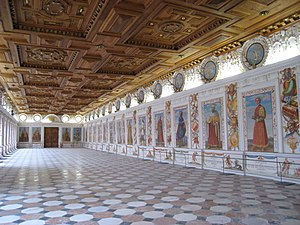 Ambras Castle - Spanish Hall