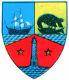 Coat of arms of Județul Constanța