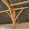 Interieur schuur, gebint met deel van het dakvlak - Vierlingsbeek - 20337102 - RCE.jpg