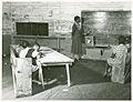 Interior of school on Mileston Plantation; School begins ver... (3109740315).jpg