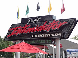 Carowinds - Intimidator opened in 2010