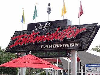 Carowinds - Intimidator opened in 2010