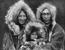 Inupiat Family from Noatak, Alaska, 1929, Edward S. Curtis (restored).jpg