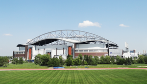 Das Investors Group Field in Winnipeg