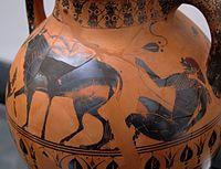 Arg i Ija, 5. stoljeće p.n.e., Italija