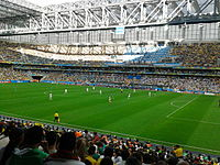 Iran and Nigeria match at the FIFA World Cup 2014-06-12 - Copa 2014 - FIFA World Cup 2014 - Curitiba (14460131073).jpg