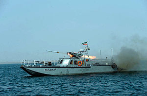 C 14-class missile boat - Image: Iranian Velayat 90 Naval Exercise by IRIN (2)
