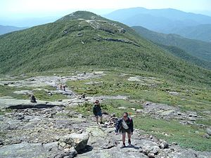 MacIntyre Mountains - Iroquois Peak seen from Algonquin Peak