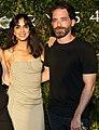 Israeli actors wife-and-husband Liraz Charhi and Tom Avni in 2021.jpg