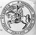 István ifjabb király lovaspecsétje, 1264.jpg