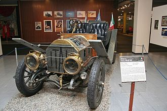 Itala - The Itala mod. 35/45 HP at the Museo Nazionale dell'Automobile in Turin.