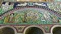 Italie, Ravenne, basilique San Vitale, mosaïque de l'histoire d'Abraham et de son fils Isaac, VIe siècle (48087064983).jpg