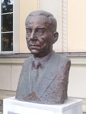 Ivo Andrić - A bust of Andrić in Graz, Austria