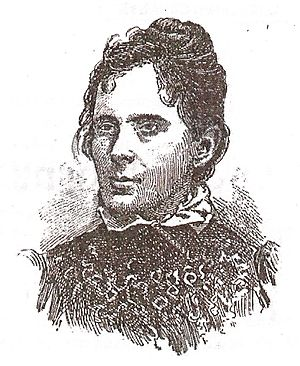 Júlia Lopes de Almeida - Sketch included in the first edition of Ância Eterna