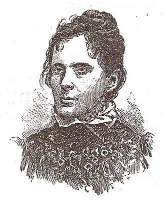 Júlia Lopes de Almeida - Sketch included in the first edition of Ância Eterna