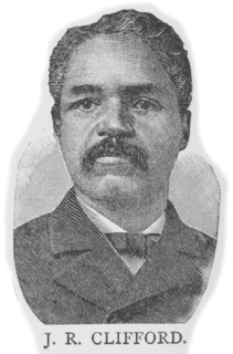 J. R. Clifford African-American attorney (1848–1933)