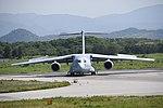 JASDF C-2(68-1204) taxiing at Miho Air Base May 26, 2018 02.jpg