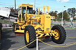 JASDF Motor Grader(Komatsu GD-505A, 44-1638) right front view at Aibano Sub Base October 14, 2018.jpg