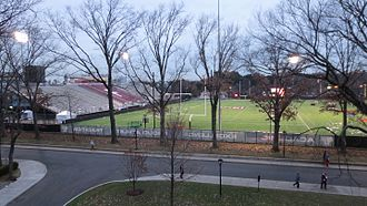 Coffey Field - Jack Coffey Field following a 2014 playoffs game.