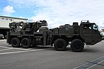 JGSDF Heavy Wheeled Recovery Vehicle(38-5010) right front view at Camp Itami October 7, 2018 04.jpg