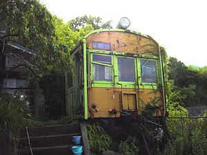 72 series - KuMoHa 73383 in Saeki, Hiroshima, June 2004