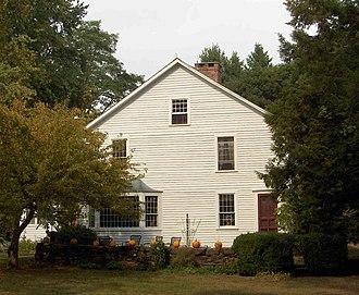 Terry's Plain Historic District - JOHN TERRY HOUSE, c. 1780