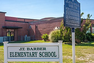 National Register of Historic Places listings in Craven County, North Carolina - Image: JT Barber School 5469