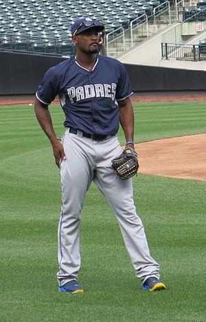 Jabari Blash - Blash with the Padres in 2016