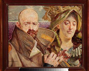 Pierwiosnek - Portret własny z żoną