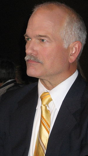 Jack Layton, Leader of the New Democratic Part...