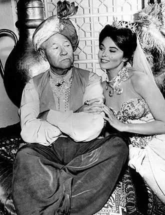 Jack Oakie - With Tina Louise in The New Breed TV series, 1961.