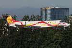 Jackie Chan's Embraer Legacy 650 on finals at Beijing Capital Airport.jpg