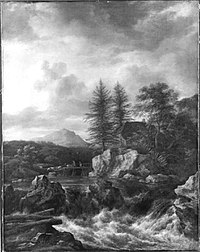 Jacob van Ruisdael - Nordische Landschaft mit Wasserfall - 874 - Bavarian State Painting Collections.jpg