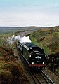 Jacobite Steam Train - Between Kinlocheil and Mallaig, Scotland, UK - May 18, 1989 02.jpg