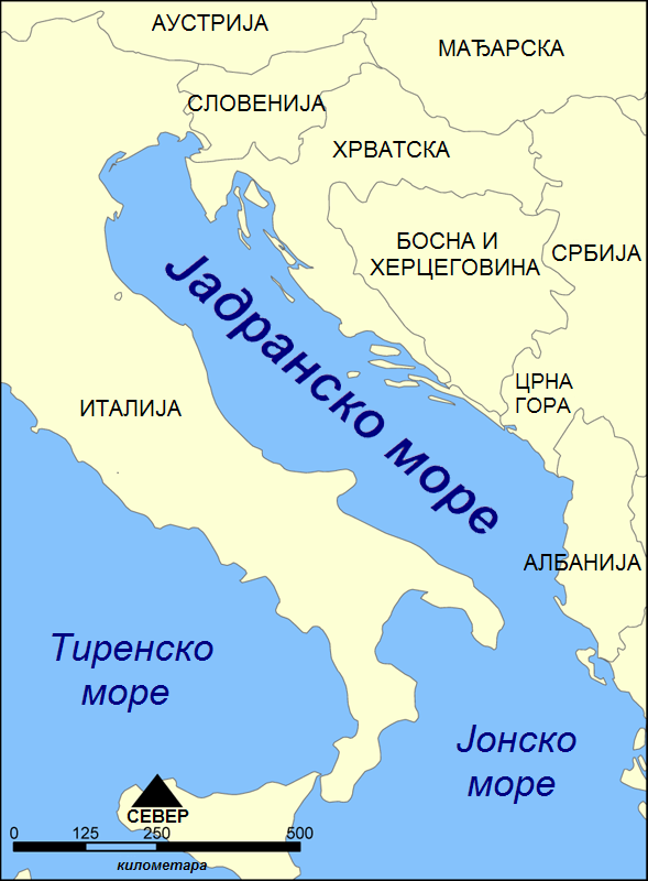 JadranskomoreMapa