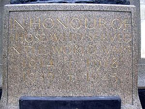 Great Western Railway War Memorial - Image: Jagger GWR memorial 2