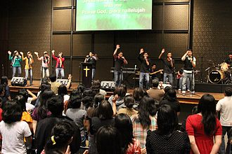 International Churches of Christ - The 2000-member church in Jakarta, Indonesia