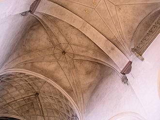 Saint James's Church, Stockholm - Present varied vaults.