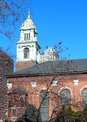 Roman Catholic Diocese of Brooklyn - Image: James Cathedral Bklyn tower jeh