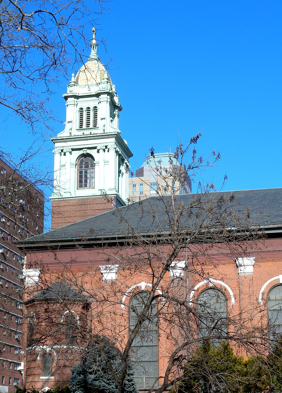 James Cathedral Bklyn tower jeh