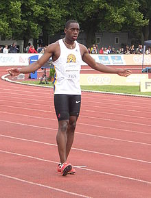 Jamie Adjetey-Nelson at TNT - Fortuna Meeting in Kladno 15June2010 124.jpg