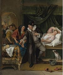The Doctor's Visit (with a syringe)